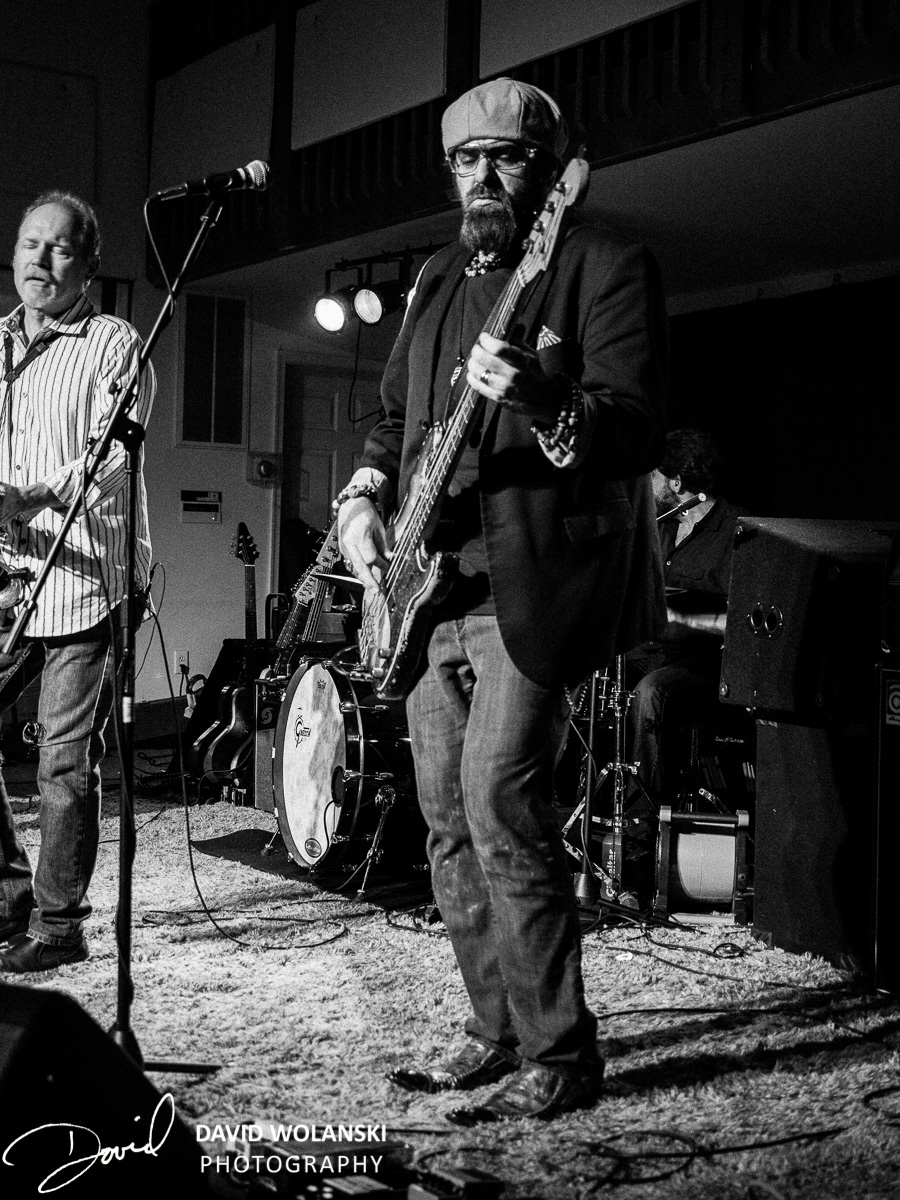 Bass Player Scot Sutherland and Jimmy Carpenter
