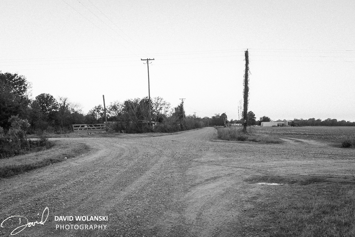 Crossroads near the Dockery Plantation