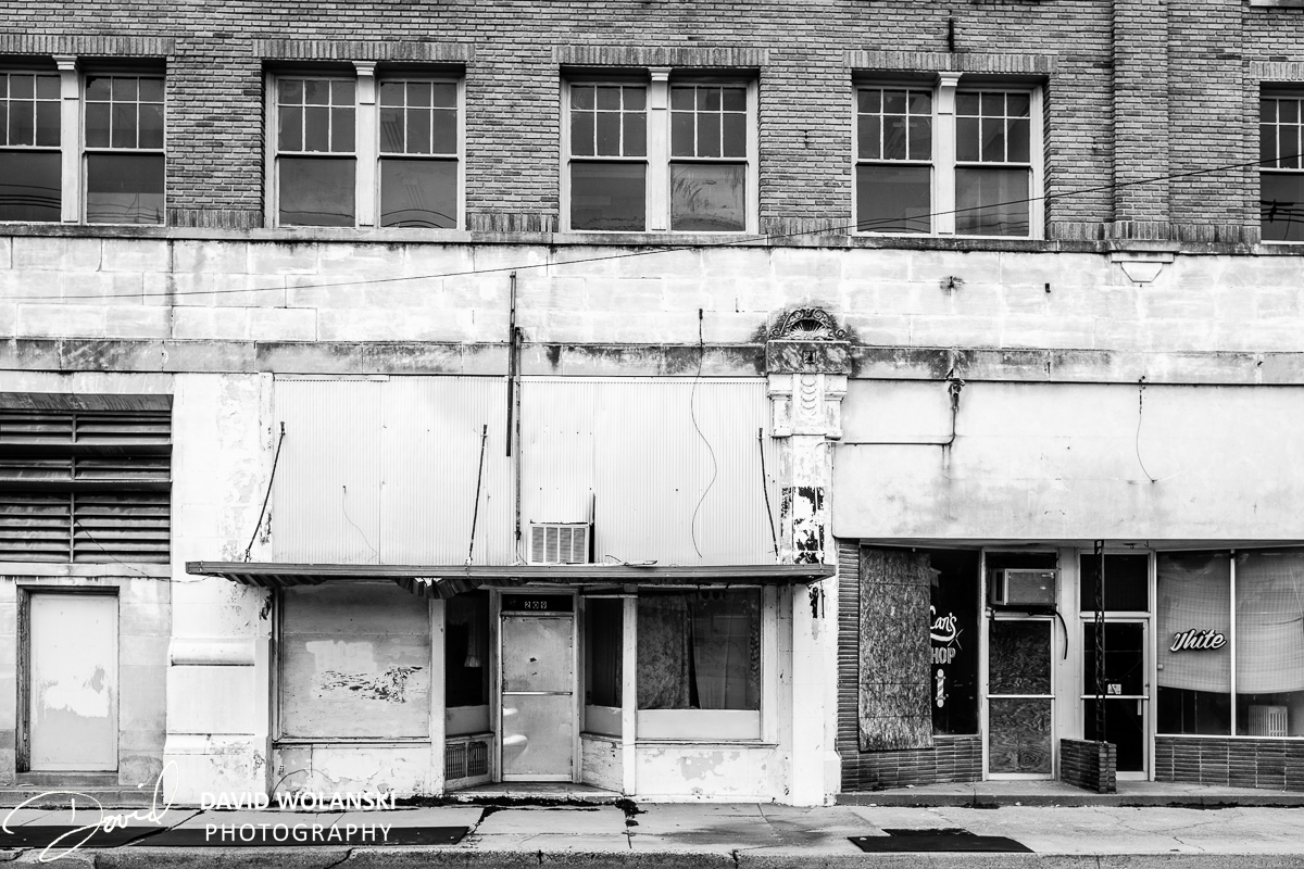 Building in Downtown Clarksdale Mississippi