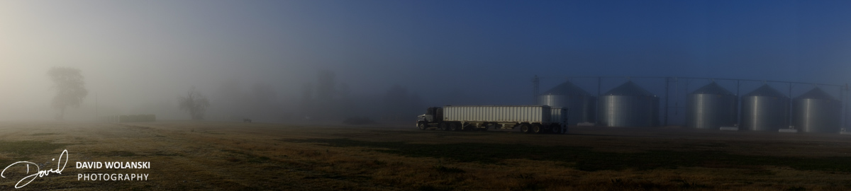 Truck and storage containers near Clarksdale MS