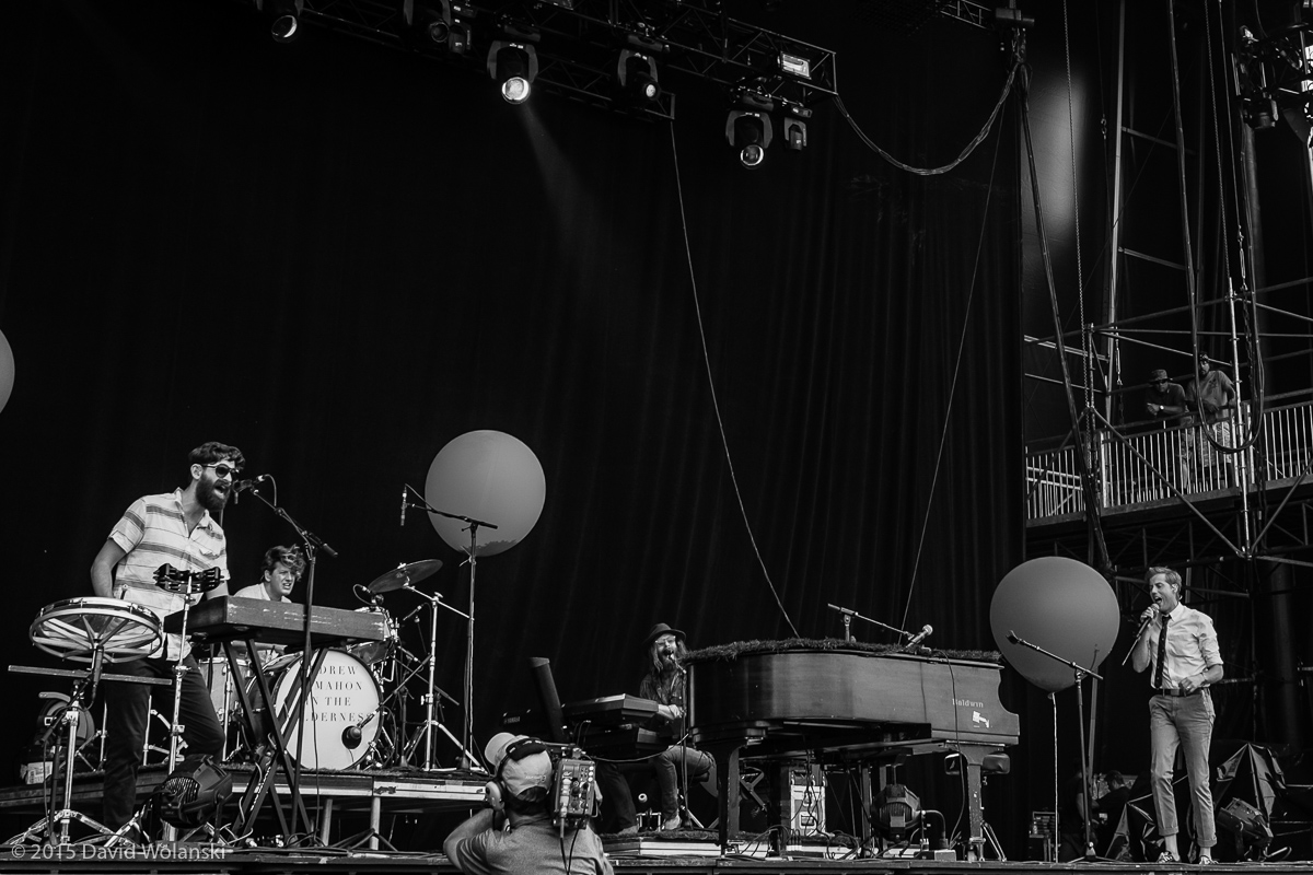 Andrew McMahon in The Wilderness at Firefly 2015