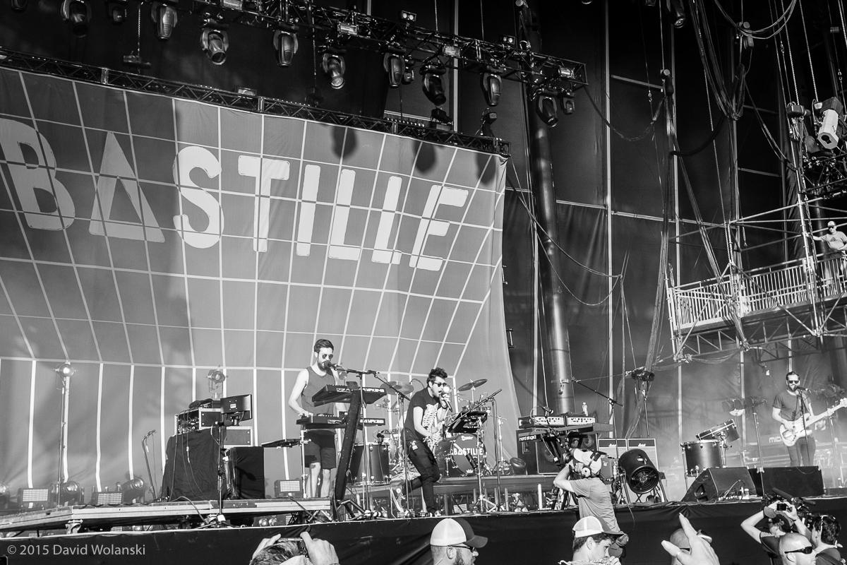 Bastille at Firefly 2015