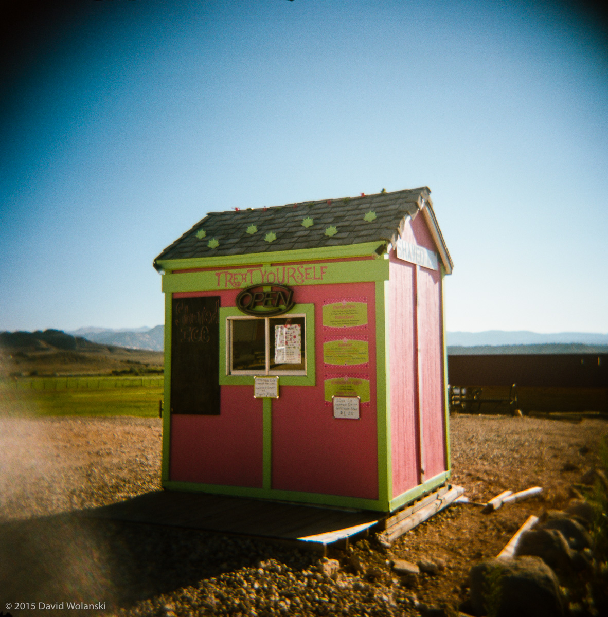I had to do a photo of this colorful shed near Bryce Canyon Utah