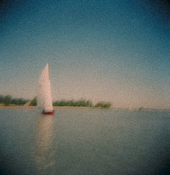 Sail Boat on the Delaware River