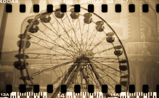 State Fair Double Exposure