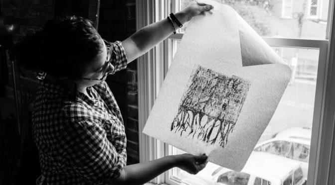 Studio Visits #6, Laura Antonella Mancuso, Print maker, Dover Delaware