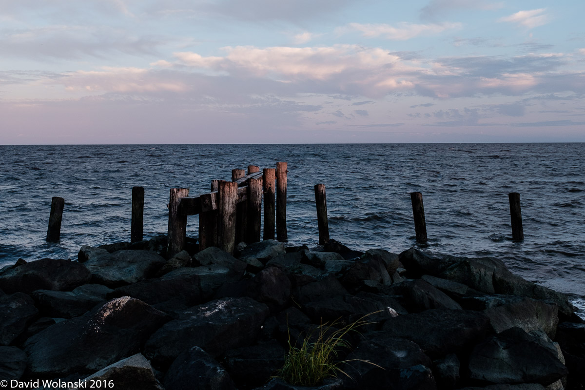 Port Mahon Delaware posts at sundown